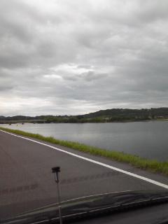 岡山県を流れる吉井川