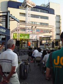戸塚駅ペデストリアンデッキ「セプテンバーコンサート」