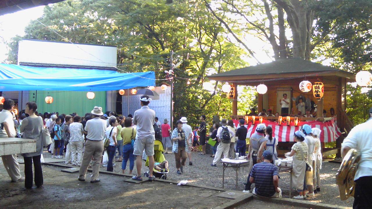 横浜市港南区・下永谷神明社例祭
